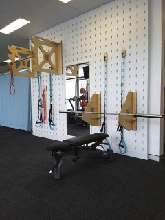 Check out some of our new equipment at the clinic: The Solid Infinity Gym System & Crank It Suspension Training!!