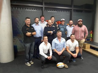 Well done to the players & coaches from Sydney Irish RFC who attended the clinic last night for their necksafe course with Dr. Adrian Cohen